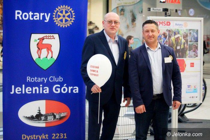 Jelenia Góra: Rotarianie podsumowali akcję z DKMS