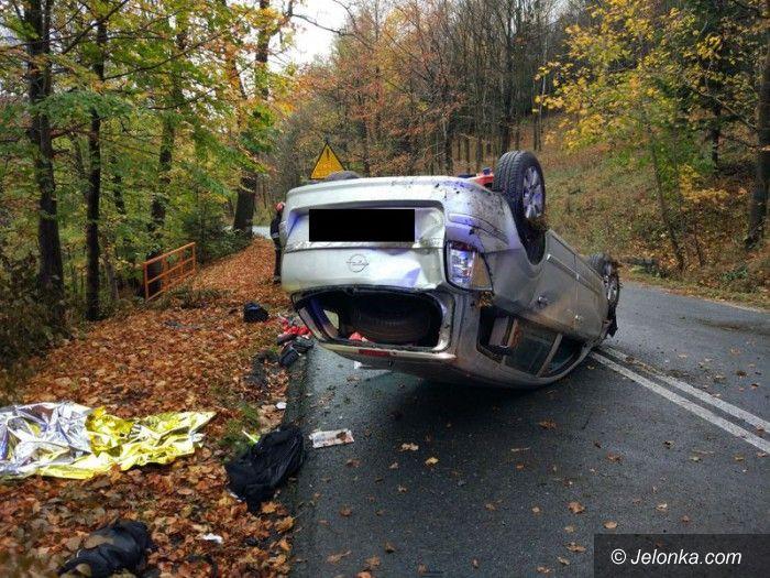 Region: W weekend dwa wypadki i kilka kolizji