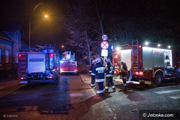 Jelenia Góra: Wyciek gazu na Morcinka (aktualizacja)