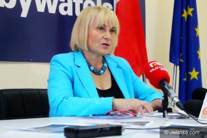 Jelenia Góra: Zofia Czernow po kongresie samorządowym PO