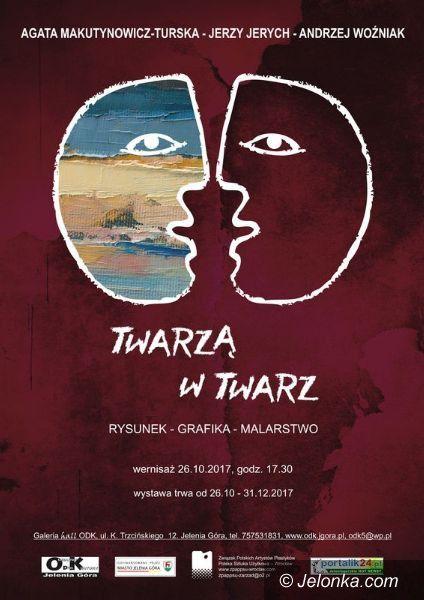 """Jelenia Góra: """"Twarzą w twarz"""" – wystawa portretów w ODK"""