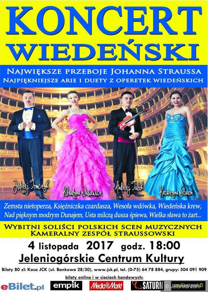 Jelenia Góra: Koncert Wiedeński wkrótce w JCK