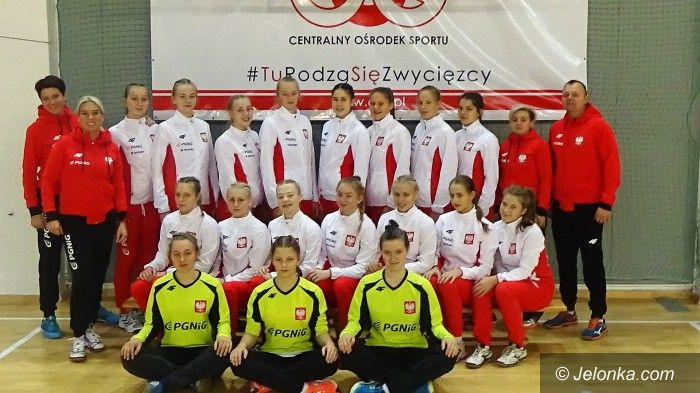 Wilno: Jeleniogórzanka w kadrze Polski