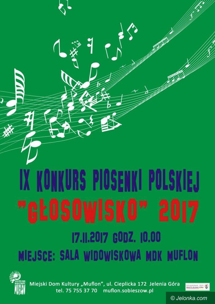 """Jelenia Góra: IX Konkurs Piosenki Polskiej """"Głosowisko"""" 2017"""