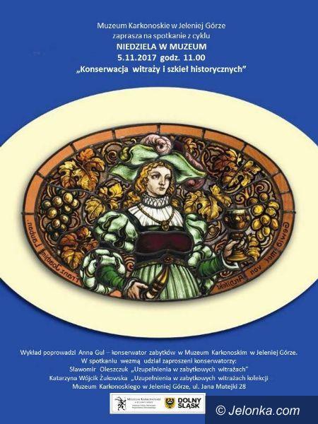 Jelenia Góra: O konserwacji witraży i szkieł historycznych