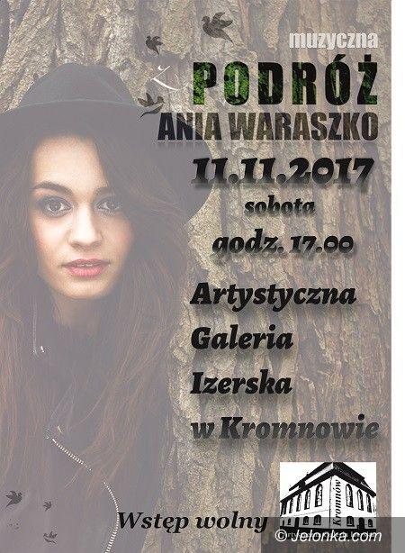 """Region: """"Muzyczna podróż"""" z Anną Waraszko"""