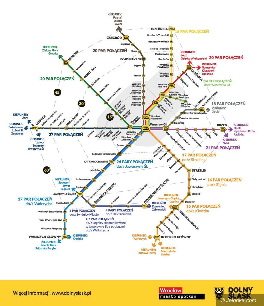 Region: Więcej pociągów w regionie, ale nie u nas