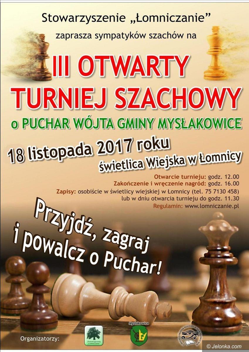 Mysłakowice: Turniej szachowy w Łomnicy