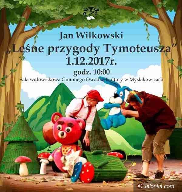 """Mysłakowice: """"Leśne Przygody Tymoteusza"""" w mysłakowickim GOK–u"""
