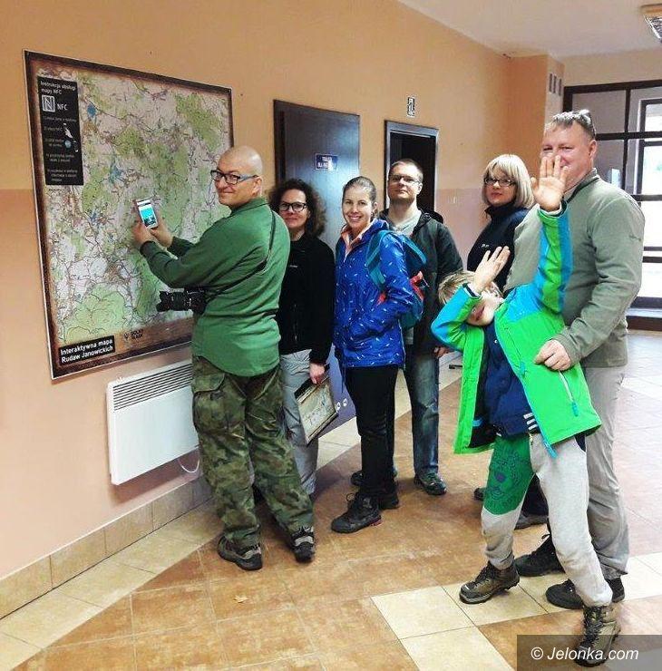 Region: Atrakcje Rudaw na innowacyjnych mapach