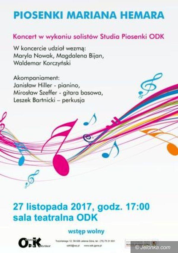 Jelenia Góra: Koncert piosenek z tekstami Hemara w ODK