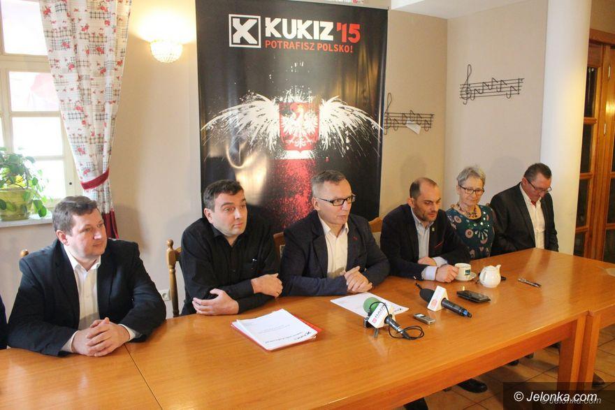 Jelenia Góra: Kukiz'15 chce biało–czerwonej kotliny