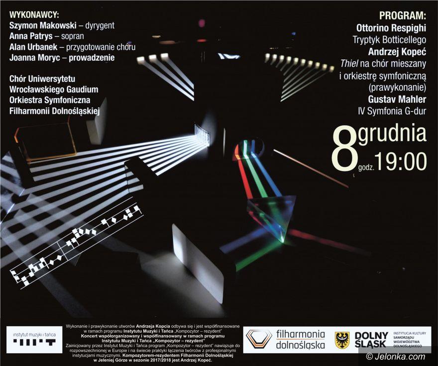 Jelenia Góra: Połączenie muzyki, grafiki i malarstwa w filharmonii