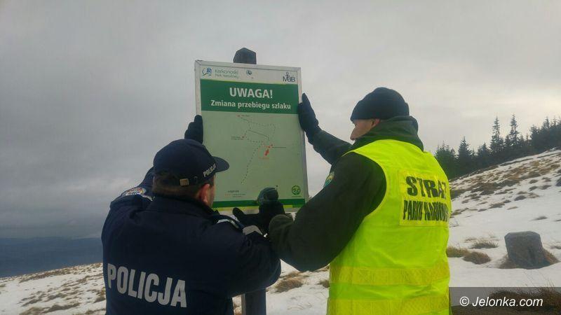 Region: Wspólne patrole w górach policji i strażników KPN