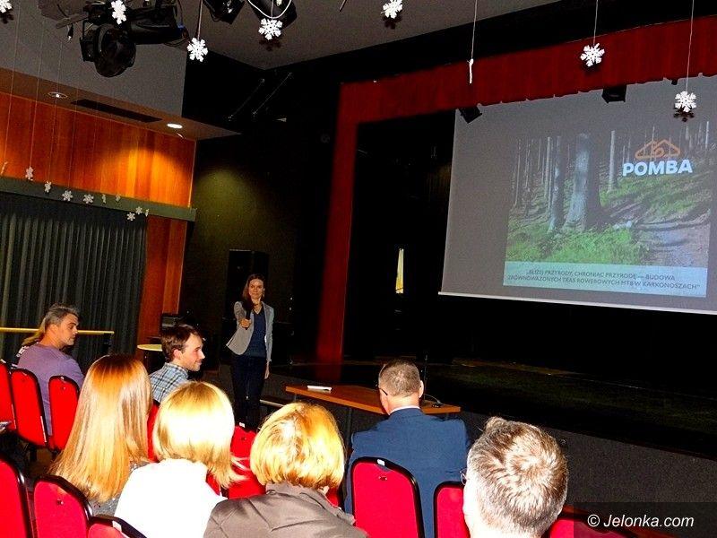 Jelenia Góra: Prezentowali koncepcję trasy rowerowej
