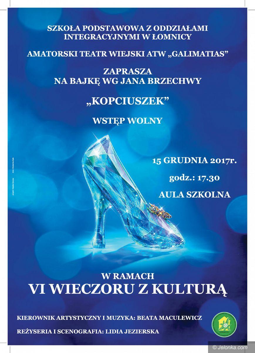 Region: Wieczór z kulturą w szkole w Łomnicy