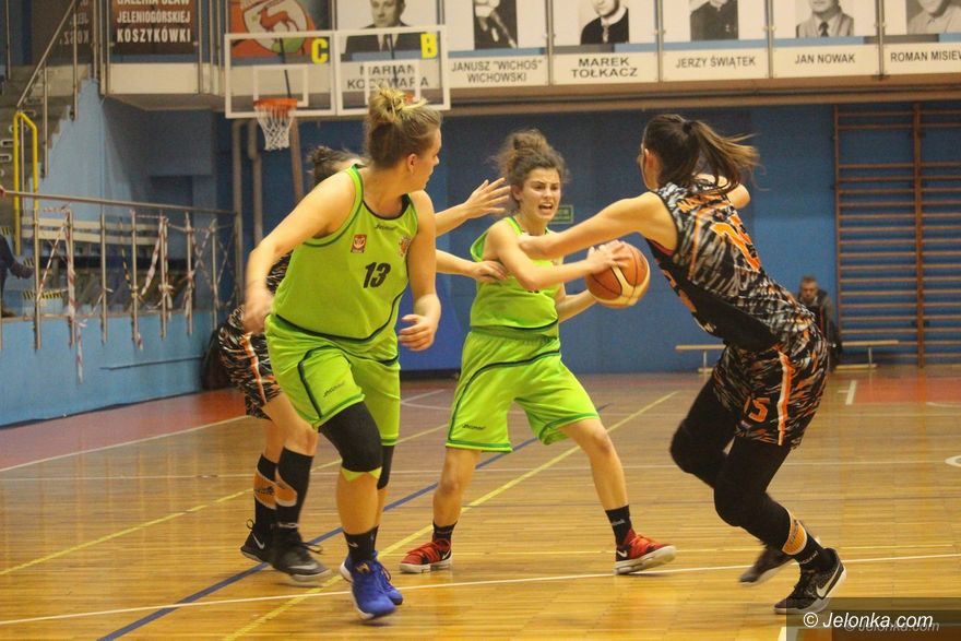 Jelenia Góra: Kolejna bolesna lekcja dla koszykarek