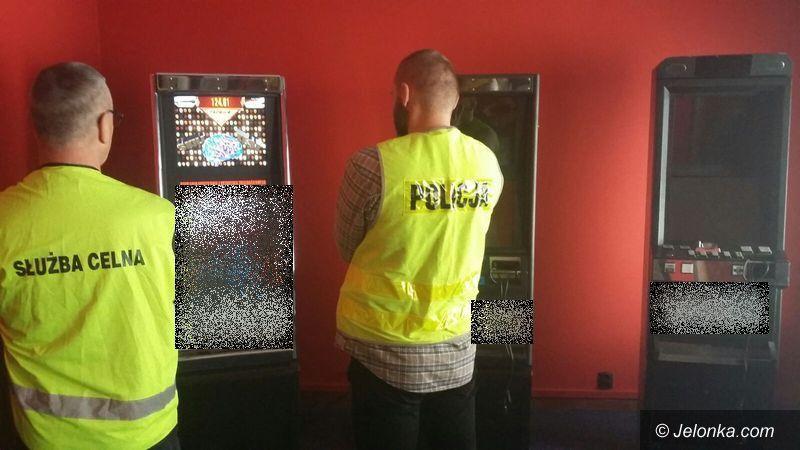 Jelenia Góra: Kolejne automaty do gier zarekwirowane