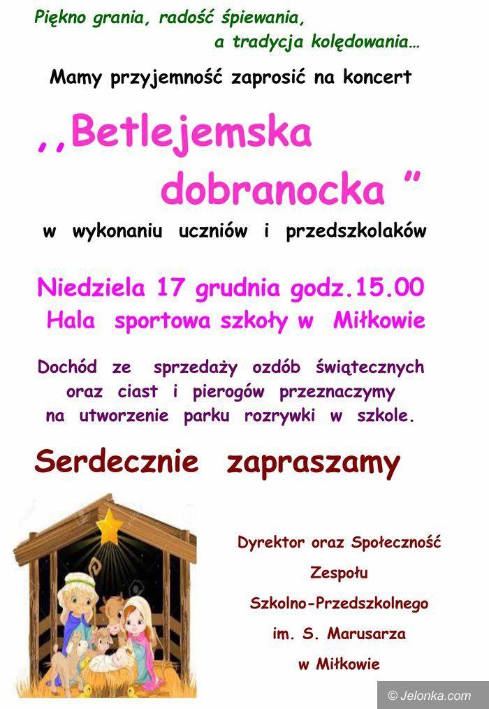 Region: Świąteczny koncert w szkole w Miłkowie
