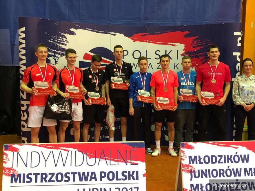 Mistrzostwa Polski: Pięć medali jeleniogórskich badmintonistów
