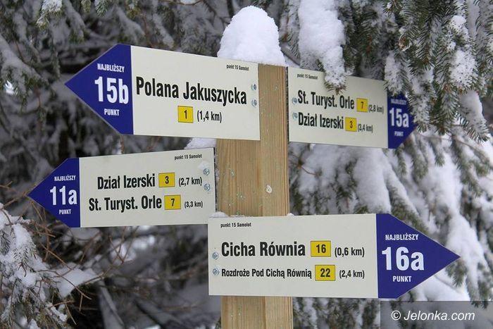 Polana Jakuszycka: Nowe oznakowania tras w Jakuszycach
