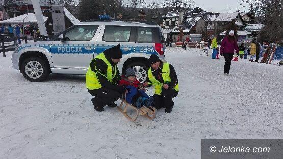 Region: Policyjne patrole narciarskie na stokach
