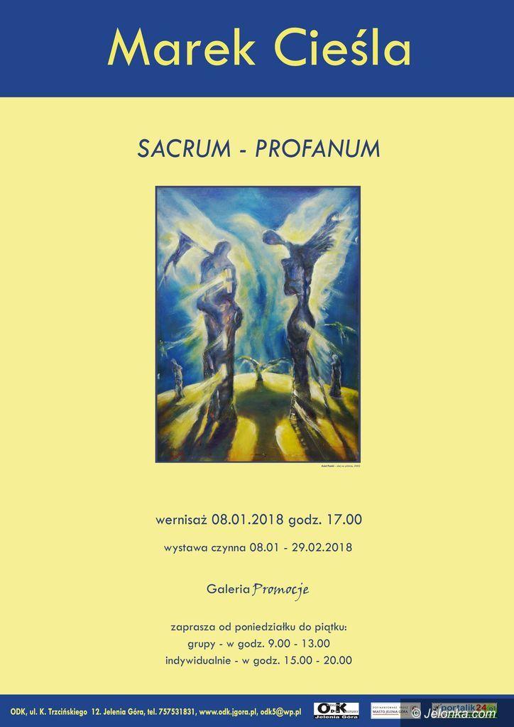 """Jelenia Góra: """"Sacrum i Profanum"""" – nowa wystawa w ODK"""