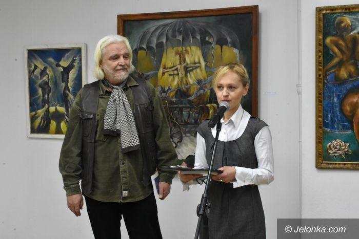 Jelenia Góra: Wernisaż wystawy Marka Cieśli w ODK