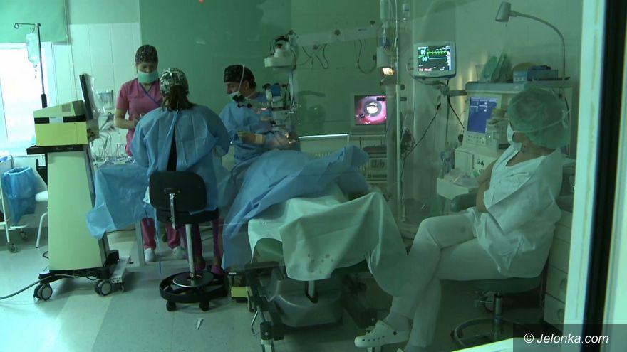 Jelenia Góra: W Jeleniej Górze nie ma kolejek na operację zaćmy