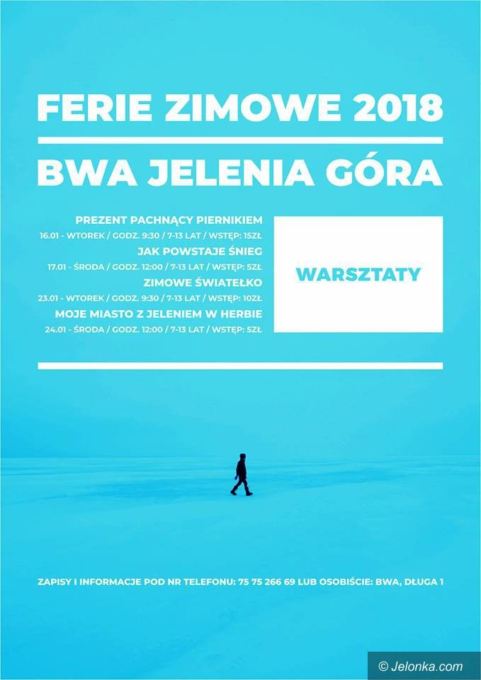 Jelenia Góra: Artystyczne ferie z BWA