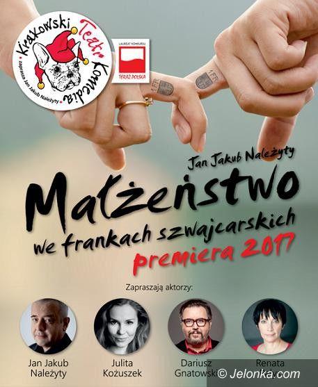 """Karpacz: """"Małżeństwo we frankach szwajcarskich"""" w Gołębiewskim"""