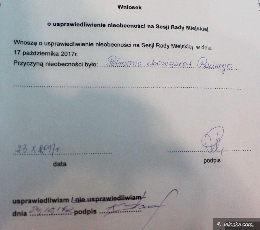 Jelenia Góra: Radna w szpitalu zamiast na sesji – dostała dietę