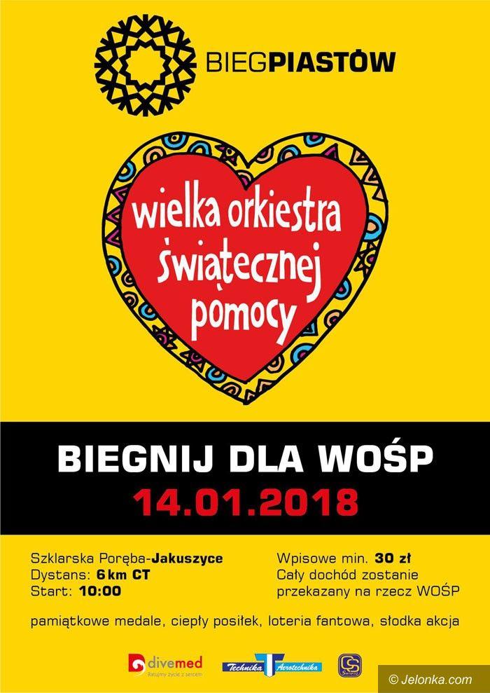 Polana Jakuszycka: Pobiegnij dla Wielkiej Orkiestry Świątecznej Pomocy