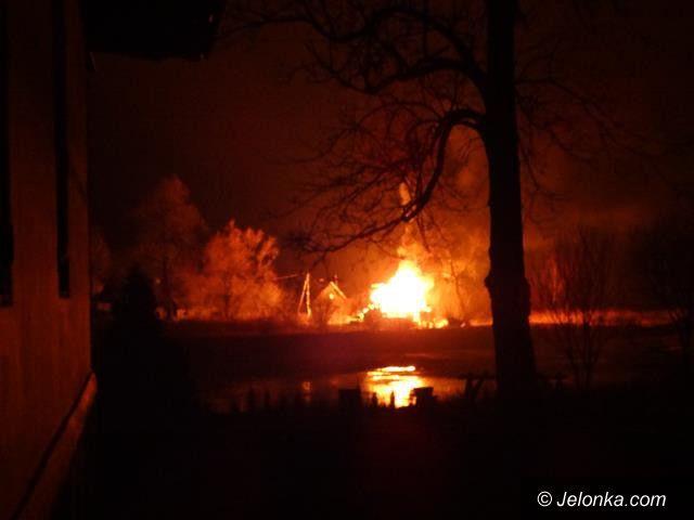 Region: Ogień strawił remontowany dom w Karpnikach