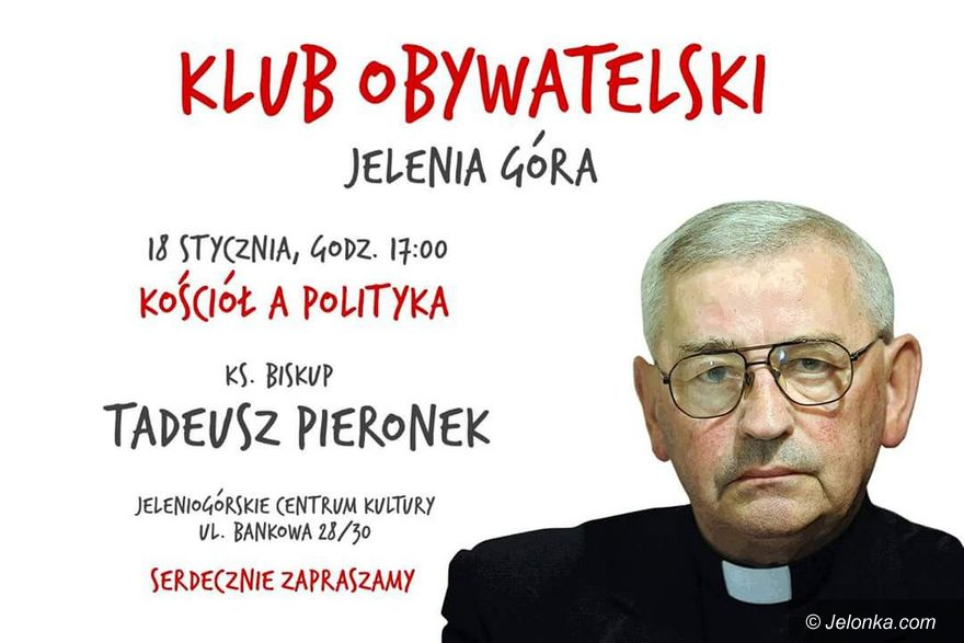 Jelenia Góra: Biskup Tadeusz Pieronek w Jeleniej Górze