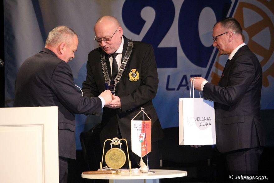Jelenia Góra: 20 lat jeleniogórskiego Rotary Clubu