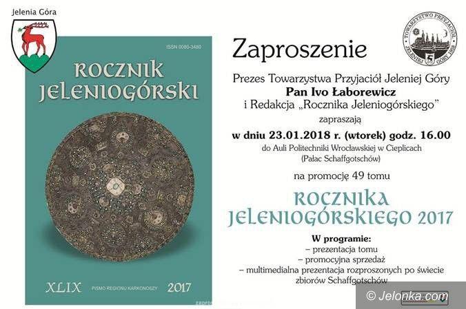 Jelenia Góra: O nowej edycji Rocznika Jeleniogórskiego – jutro