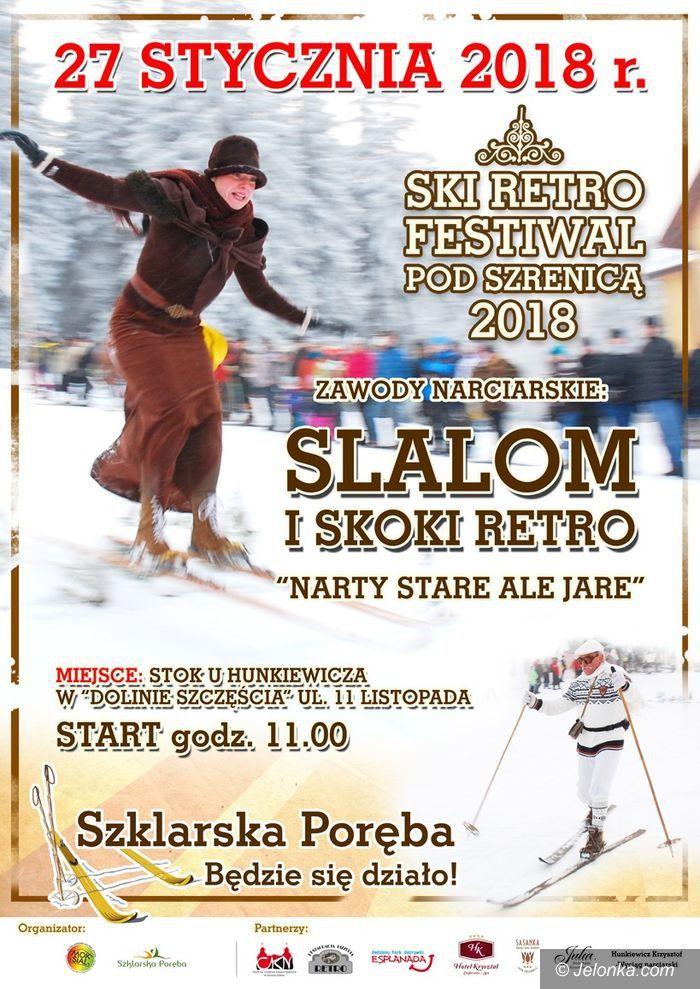 Szklarska Poręba: Zawody narciarskie w stylu retro