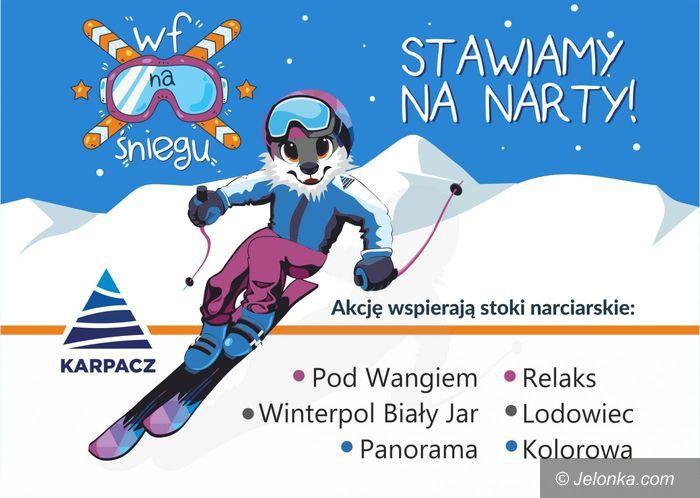 """Karpacz: Darmowe zajęcia """"WF na śniegu"""""""