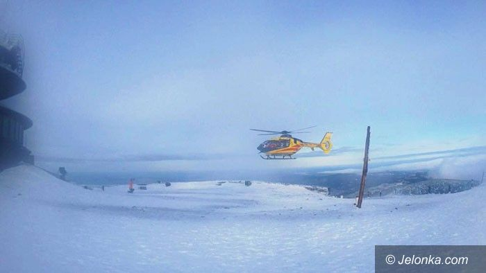 Region: Akcja ratunkowa na szczycie Śnieżki