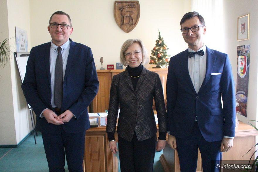 Jelenia Góra: Niemiecka konsul z wizytą w Jeleniej Górze