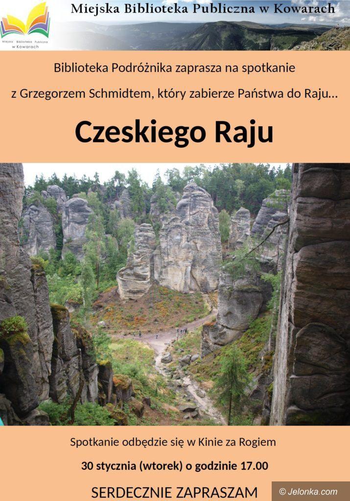 """Kowary: O Czeskim Raju w """"Bibliotece Podróżnika"""""""