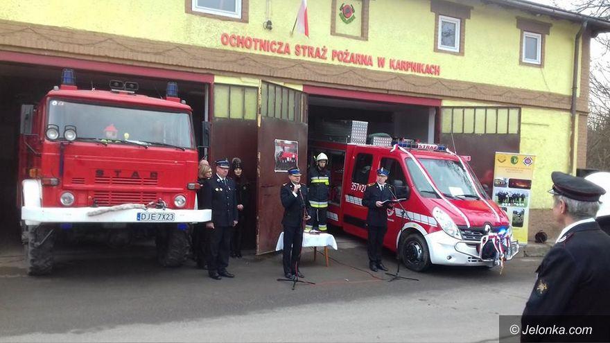 Region: Nowy wóz gaśniczy dla OSP w Karpnikach