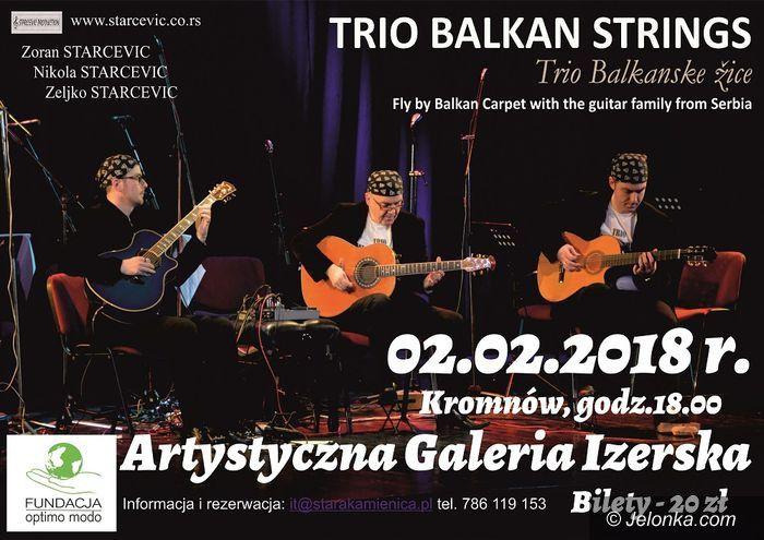 Region: Koncert serbskiego zespołu w Kromnowie