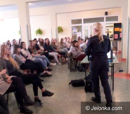 Jelenia Góra: Drugstop w Zespole Szkół Ogólnokształcących i Technicznych
