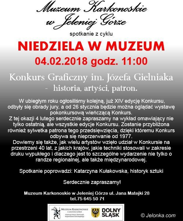 Jelenia Góra: Niedziela w Muzem o Konkursie im. Gielniaka