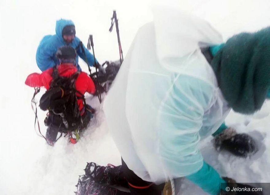 Region: Akcja ratunkowa nad Śnieżnymi Kotłami
