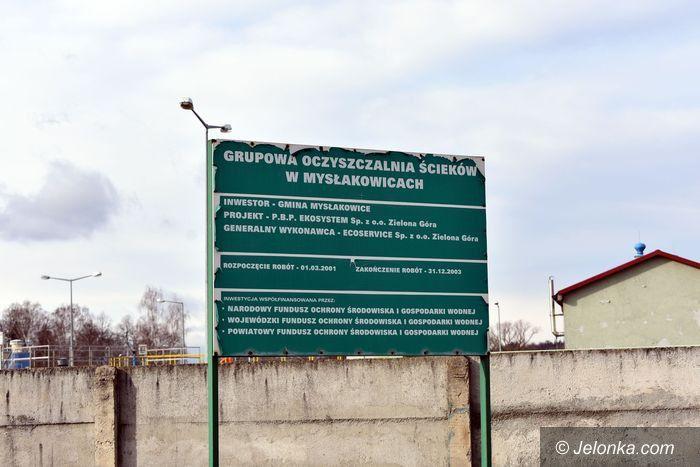 Mysłakowice: Mieszkańcy protestują przeciw przetwórni osadów