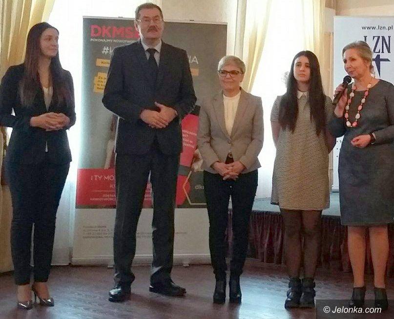 """Jelenia Góra: """"Śniadecki"""" walczy o dawców szpiku!"""