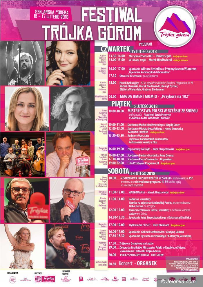 Szklarska Poręba: IV Festiwal Trójka Górom już wkrótce